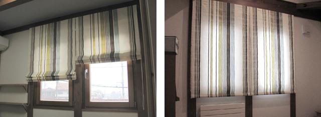 草加市K様邸の寝室と洋室【北欧モダン】のツイン-シェードのコーディネート